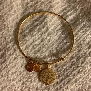 Alex and Ani Jewelry - Thankful alex and ani bangle